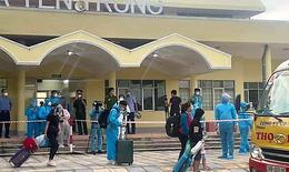 Hà Tĩnh đón gần 1000 công dân từ các tỉnh phía Nam trở về đảm bảo an toàn phòng dịch
