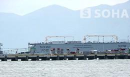 Hình ảnh đầu tiên về nơi đón tàu ngầm Kilo Hà Nội ở Cam Ranh