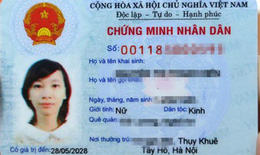 Cho phép cấp CMND 12 số trên cả nước