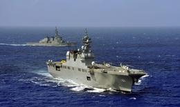 Nhật Bản đầu tư mạnh cho quốc phòng