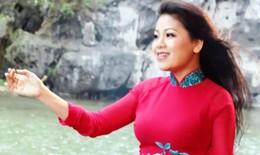 Ca sỹ Anh Thơ mặc chiếc áo dài 1 tỷ đồng trong liveshow đầu tiên