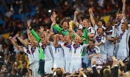 Đức nhận thưởng cao nhất lịch sử World Cup