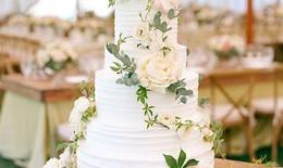 Những chiếc bánh cưới đẹp nhất năm 2014