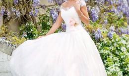 Váy cưới mang phong cách sao Hollywood
