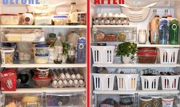 Mẹo bảo quản và sắp xếp thực phẩm hợp lý trong tủ lạnh