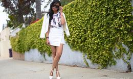 Váy quấn và váy xuyên thấu - Xu hướng thời trang hè