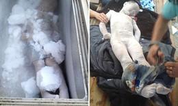 Ướp xác 2 cậu con trai chết đuối trong tủ đông lạnh vì quá đau buồn