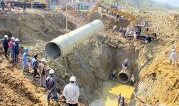Nguyên nhân vỡ đường ống nước sông Đà - Vẫn chưa có lời giải?