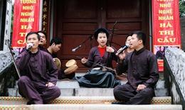 Nghe Xẩm Hà thành trong ngày giỗ tổ nghề hát xẩm