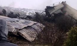 Máy bay đâm vào núi, 77 người thiệt mạng