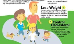 7 bước để có một trái tim khỏe mạnh