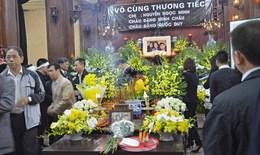 Nước mắt chảy dài trong tang lễ nạn nhân người Việt vụ MH17