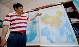 Truyền thông thế giới chế nhạo bản đồ mới của Trung Quốc