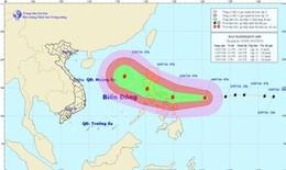 Tin mới nhất về cơn bão gần Biển Đông