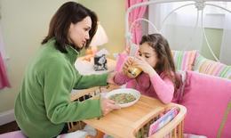 Dinh dưỡng cho trẻ ốm