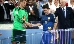 """FIFA gây tranh cãi khi trao danh hiệu """"Quả bóng vàng World Cup"""" cho Messi"""