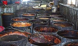 """Dưa chuột trộn thịt lợn, sốt thịt cay nhập khẩu chứa """"dầu bẩn"""""""