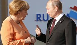 Putin - Merkel gặp bên lề chung kết World Cup