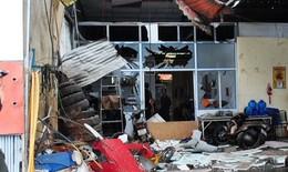 Thợ vá lốp ôtô nguy kịch sau tiếng nổ như bom