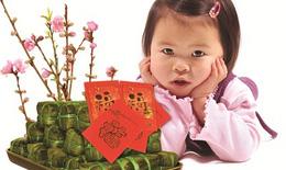 Bí quyết đảm bảo dinh dưỡng cho trẻ ngày Tết