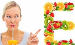 Bật mí những tác dụng thần kì của vitamin E