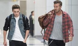 Con trai Beckham được đặc cách lên đội U18 của Arsenal