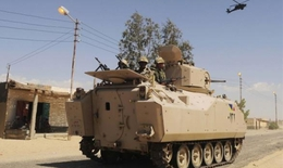 Phiến quân tấn công quân đội tại bán đảo Sinai Ai Cập, 44 người chết