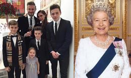 Vợ chồng Beckham giàu hơn Nữ hoàng Anh