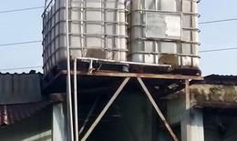 Nguy hiểm khi dùng bình chứa hóa chất đựng nước sinh hoạt