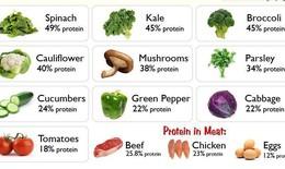 Top 10 loại rau xanh giàu protein
