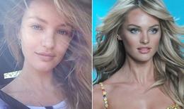 Rời son phấn, người mẫu Victoria's Secret còn bao nhiêu phần nhan sắc?