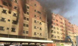 Cháy lớn ở chung cư Ả-rập Xê-út, hơn 100 người thương vong