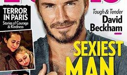 David Beckham được bầu chọn là người đàn ông gợi cảm nhất năm 2015