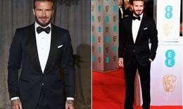 David Beckham đẹp lồng lộng trên thảm đỏ