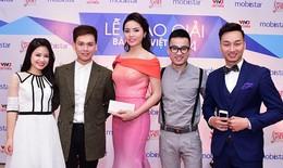 Hoa hậu Kỳ Duyên lộng lẫy trao giải Bài hát Việt 2014