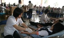 Năm đầu tiên vận động hiến máu tình nguyện đạt trên 1 triệu đơn vị máu