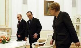 Cuộc gặp Nga- Pháp- Đức về Ukraine không đạt bất kỳ thỏa thuận nào