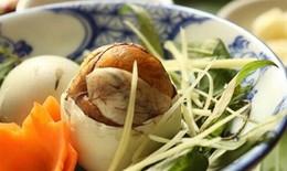 Trứng vịt lộn – thức ăn ngon, thuốc bổ quý