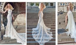 15 mẫu váy cưới hở lưng gợi cảm cho cô dâu