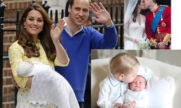"""Chuyện tình """"cổ tích"""" của Hoàng tử William và Kate"""