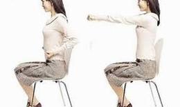 Luyện tập tránh gù lưng do tư thế