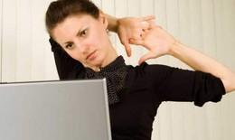 """5 bài tập giảm đau cổ vai gáy cho """"dân"""" văn phòng"""