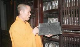 Độc đáo mộc bản Phật giáo