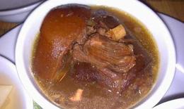 Món ăn từ đuôi bò cường dương, kiện thận
