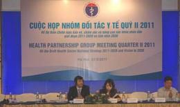 """Cuộc họp nhóm đối tác y tế (HPG): """"Chiến lược 5 năm của ngành y tế toàn diện, kết cấu rõ ràng"""""""