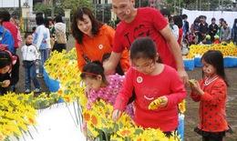 15.000 hoa hướng dương cho bệnh nhi ung thư dũng cảm