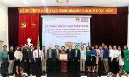 """Traphaco xác lập kỷ lục Việt Nam: """"Công ty Dược số 1 về thuốc Đông dược"""""""