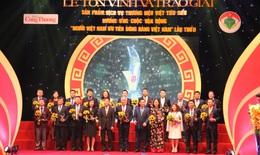 Boganic của Traphaco lần thứ 2 được vinh danh Top 10 thương hiệu Việt tiêu biểu xuất sắc