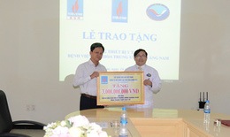 Bệnh viện đa khoa Trung ương Quảng Nam tiếp nhận viện trợ hơn 3 tỷ đồng