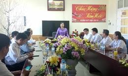 Bộ trưởng Nguyễn Thị Kim Tiến thăm và làm việc tại BVĐK khu vực Tây Bắc, Nghệ An